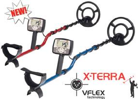 Металлодетектор X-Terra 50 и X-Terra 30 для поиска кладов, монет. Две частоты обнаружения 7,5 или 18,75 кГц.