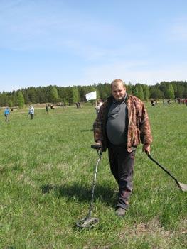 Слет кладоискателей в Ниженем новгороде. Металлодетектор X-Terra T74.