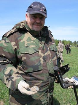 Слет кладоискателей в Ниженем новгороде. Металлодетектор Explorer.