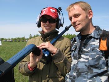 Слет кладоискателей в Ниженем новгороде. Металлодетектор Quattro.